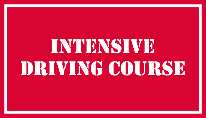 Intensive Driving Course East London